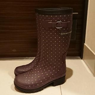 ヒロミチナカノ(HIROMICHI NAKANO)の美品♥️21★ヒロミチナカノ★長靴☆防寒靴☆防水設計(長靴/レインシューズ)