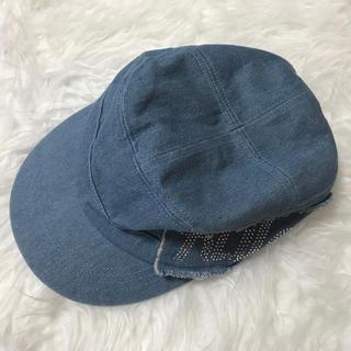 デニムビジュー♥︎帽子(その他)