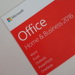 Office Home&Business2016 microsoft(その他)