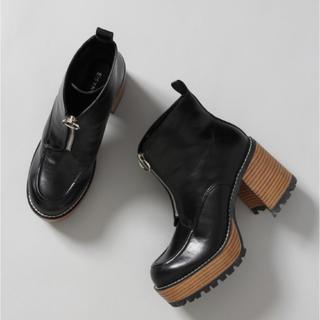 ジーナシス(JEANASIS)のジーナシス厚底ブーツ(ブーツ)