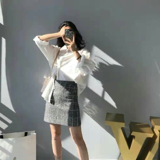 miumiu - MIU MIU チェック スカート