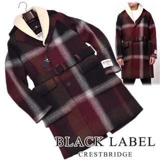 ブラックレーベルクレストブリッジ(BLACK LABEL CRESTBRIDGE)の新品 black label crestbridge オーバー コート(トレンチコート)