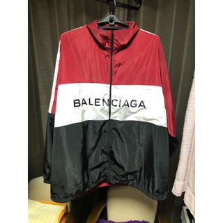 バレンシアガ(Balenciaga)のBALENCIAGA トラックナイロンジャケット(ナイロンジャケット)
