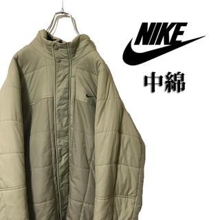 ナイキ(NIKE)のNIKE ナイキ ダウンジャケット 中綿 ナイロン 胸ロゴ スウォッシュ(ダウンジャケット)
