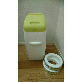 アップリカ オムツ用ゴミ箱 カートリッジ2個