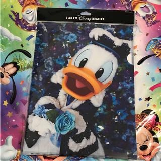 ディズニー(Disney)のイマジニングザマジック♡蜷川実花 ドナルド クリアファイル コレクションカード(クリアファイル)