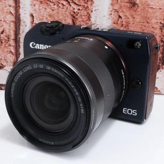 キヤノン(Canon)の️️★新品級★Wi-Fi搭載★Canon EOS M2 レンズセット★ (ミラーレス一眼)