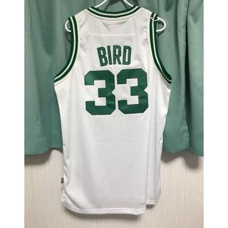 アディダス(adidas)のラリーバード ♯33 セルティックス ユニフォーム Mサイズ NBA新品未使用(バスケットボール)