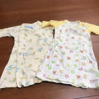 コンビミニ(Combi mini)の新生児服  50〜60cm(カバーオール)