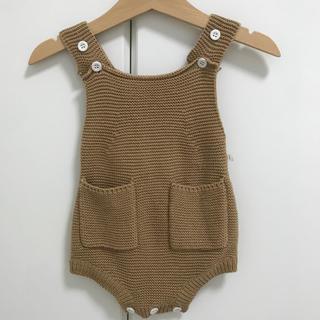 ベビーギャップ(babyGAP)のニットロンパース 韓国子供服(ロンパース)