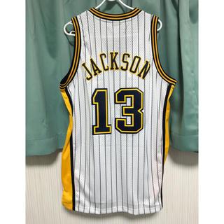 アディダス(adidas)のインディアナ・ペイサーズ  JACKSON ♯13 ユニフォーム Mサイズ 新品(バスケットボール)