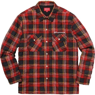 Supreme - Supreme Independent Quilted FlannelShirt