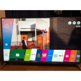 LG Electronics - 超美品 LG 55V型 4K有機ELテレビ 2年延長保証付き 55UJ6100