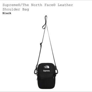 シュプリーム(Supreme)のSupreme/TNF Leather Shoulder Bag black(ショルダーバッグ)