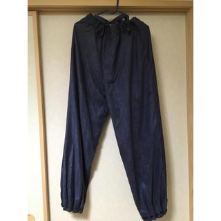ソウソウ(SOU・SOU)のフェイクスエード 宮中裾 袷(きゅうちゅうすそ あわせ)/青褐(あおかち)(和装小物)