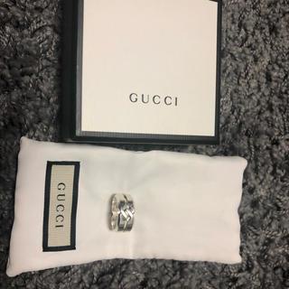 グッチ(Gucci)のgucci リング 16号 美品(リング(指輪))