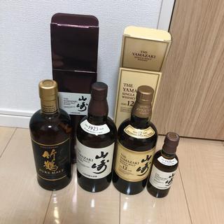 サントリー - 山崎 12年   竹鶴   ウィスキー
