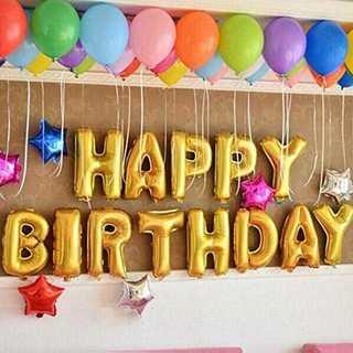 ☆お誕生日パーティー 風船☆ 飾り バルーン HAPPY BIRTHDAY