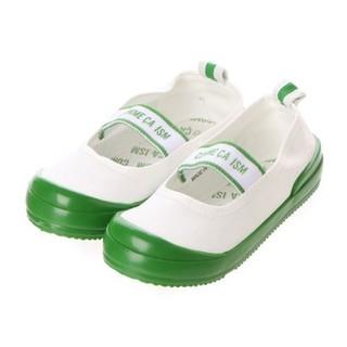 コムサイズム(COMME CA ISM)のりんご様専用  緑19cm(スクールシューズ/上履き)