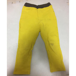 シマムラ(しまむら)の黄色  ズボン  100(パンツ/スパッツ)