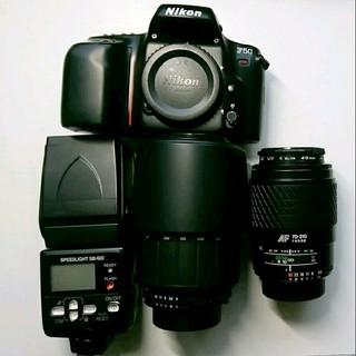 ニコン(Nikon)のnikon F50 SB-600 レンズセット ジャンク(ストロボ/照明)