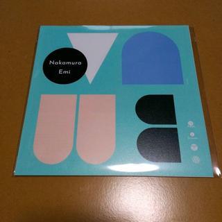 Nakamura Emi 相棒 1000枚限定生産/7インチシングルレコード