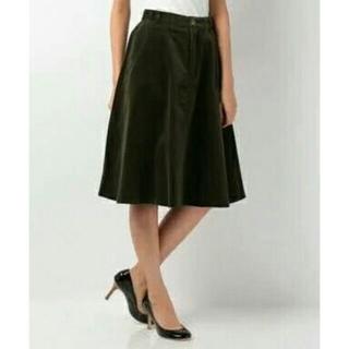 ヴィス(ViS)のコーデュロイ膝丈スカート(ひざ丈スカート)