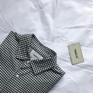 ヤエカ(YAECA)のYAECA ギンガムチェック コンフォートシャツ(シャツ)