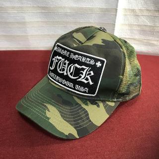 CH クロムハーツ 迷彩キャップ 帽子 正規品