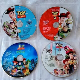 新品♡トイ・ストーリー1.2.3&トイ・ストーリーオブテラー  DVDセット