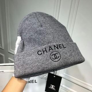 値下げ!CHANEL シャネル ニット帽子