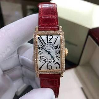 フランクミュラー(FRANCK MULLER)のフランクミュラー ロングアイランド シルバーレリーフ  レディース 腕時計(腕時計)