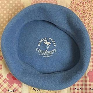 ガーリー バスクウール ベレー帽