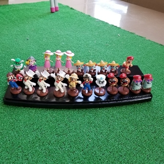 フルタセイカ(フルタ製菓)の開封済チョコエッグ スーパーマリオオデッセイ 3体セット550円(ゲームキャラクター)