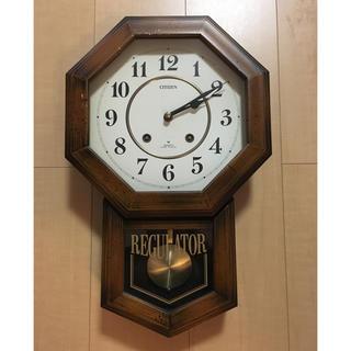 シチズン(CITIZEN)のCITIZEN 昭和レトロ壁掛け時計(掛時計/柱時計)