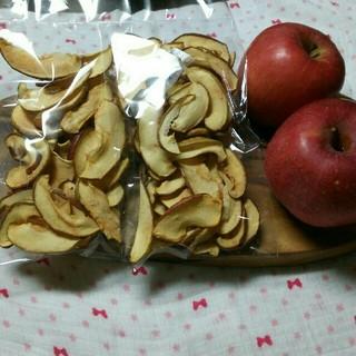 信州産リンゴチップス2袋