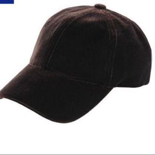 ジーユー(GU)のGU ベロア キャップ 帽子(キャップ)