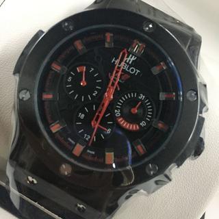 ウブロ 腕時計 メンズ ブラック 自動巻き 箱付き