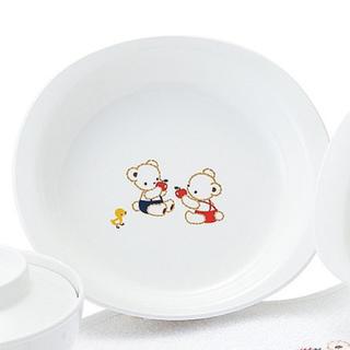 新品未開封 ファミリア  ベビー食器 PET浅皿
