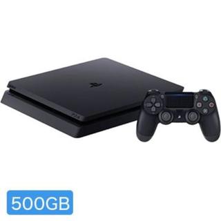 PS4 本体 500GB クーポン付 ジェットブラック 5%オフで23,275円