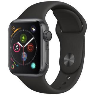 新品未使用 Applewatch series4 40mm スペースグレイアルミ