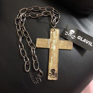 グラビル バイ チュチュア(GLAVIL by tutuHA)のグラビル クロスネックレス(ネックレス)