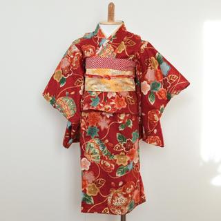 ri様専用 ベビー着物 帯セット ハンドメイド(和服/着物)