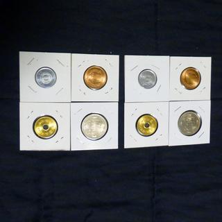 昭和64年硬貨4枚2セット