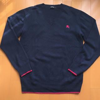 バーバリーブラックレーベル(BURBERRY BLACK LABEL)のバーバリーブラックレーベル お洒落なセーター(ニット/セーター)