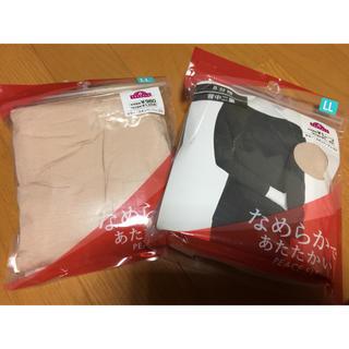 ヒートテック イオン 8分袖シャツとレギンスセット 新品未使用