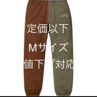 シュプリーム 18aw Split Sweatpant