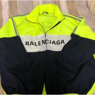 バレンシアガ(Balenciaga)のBalenciaga トラックジャケット ポプリンシャツ(ナイロンジャケット)