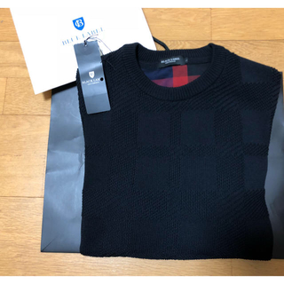 新品未使用 ブラックレーベル クレストブリッジ ニット セーター
