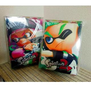 【新品】スプラトゥーンバスタオル2枚セット(箱あり)